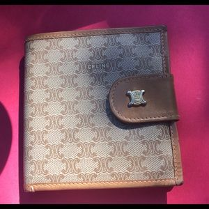 Handbags - Authentic Vintage Celine wallet EUC